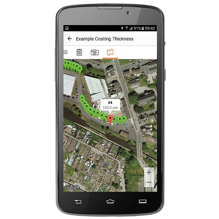 GPS zobrazenie
